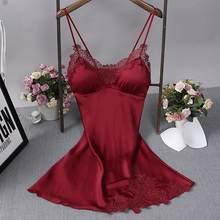 Сексуальная черная Женская шелковистая Пижама для сна топ для сна Ночная Рубашка домашняя одежда ночная рубашка халат банный Халат(Китай)