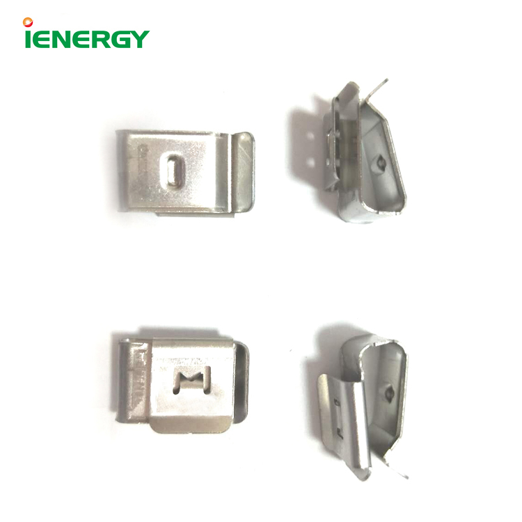 Multi purpose stainless steel solar cable  metal clips pv cable clip