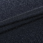Wholesale high quality lurex clothing knitted stretch polyester linen fabric