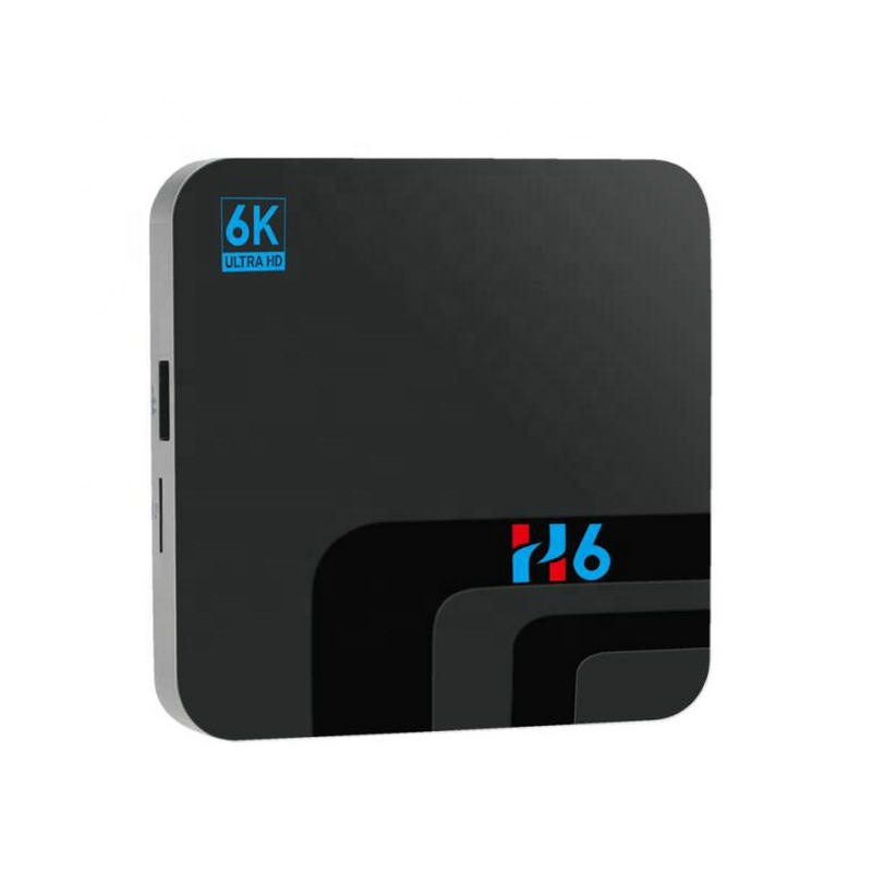 2019 2+16GB 4+32GB Android 8.1 H6 2.4G Wifi Support 4G FDD-LTE SIM CARD High Definition Media <strong>Player</strong> H6 Ultra 6K Smart Tv Box