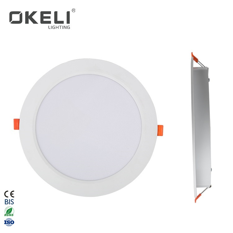 OKELI Cheap Price Round Aluminum SMD 5W 9W 12W 18W 24W Recessed Mounted Indoor Ceiling Led Down Light