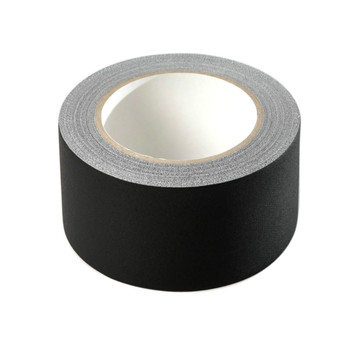 2Inch * 33Yards Heavy Duty Matte Cloth Gaffer Tape with Black Color Perfect Alternative to Duct Tape