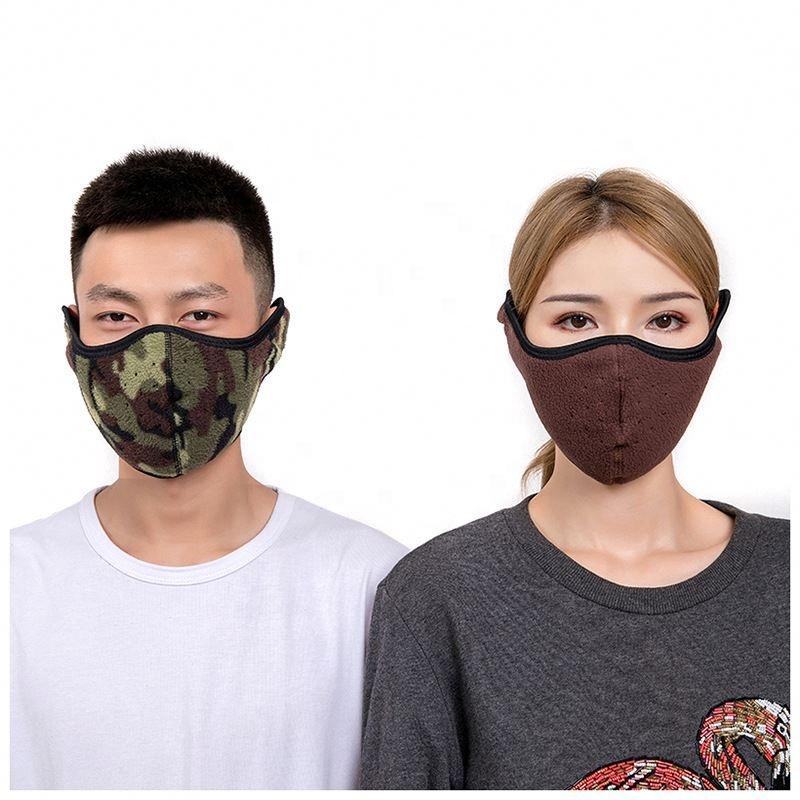 कस्टम यूनिसेक्स आउटडोर Neoprene Windproof चेहरे नकाब सर्दियों मुखौटा