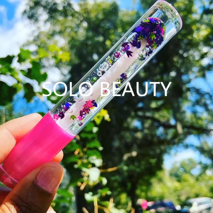 2020 Membuat Anda Sendiri Logo Label Pribadi Dasar Vendor Kustom Jelas Anak-anak Glossy Lipgloss Nude Glitter Kit Vegan Grosir Bibir gloss