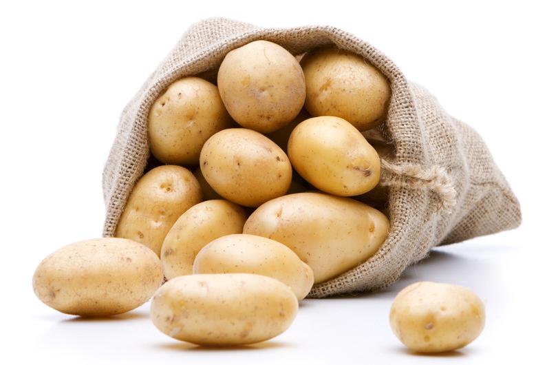 Свежий натуральный высококачественный органический китайский картофель