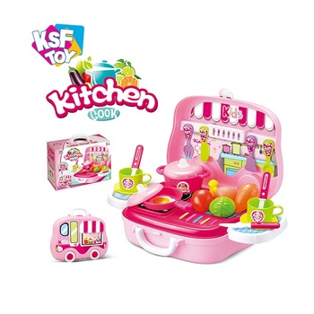 Girls Suitcase Game Set Kids Pretend Play Toys Kitchen Cooking With Light And Music Buy Kids Pretend Play Toys Kitchen Cooking Kids Kitchen Set Toy Cooking Set Toys Product On Alibaba Com