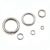 DIY Original Color 304L Stainless Steel Open Jump Rings Beads Jewelry Findings