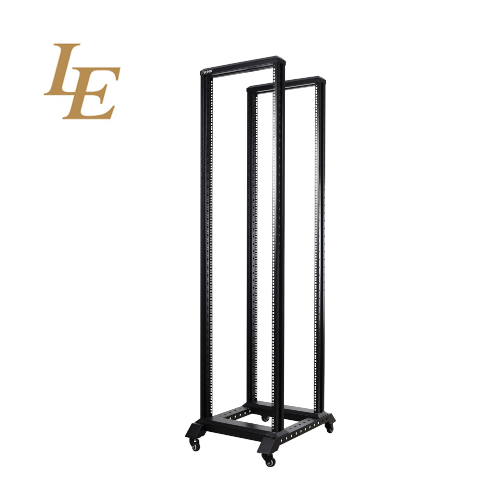 "27U 4 post open frame 19"" server /Audio steel rack Deep 600mm"