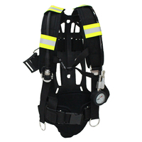 Firefighting Equipment Soft Shoulder Straps SCBA Backboard Breathing Apparatus