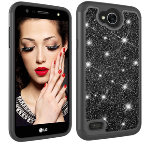 China Factory Wholesale Mobile Phone Black Phone Case For LG X Power2