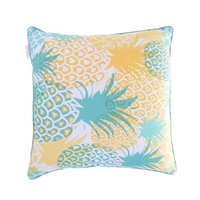Decorative Throw Pillow Covers Pineapple Pillow Cases Cotton Linen Cushion Cover Pillowcase 18 x 18 for Couch Bed Sofa Patio Car