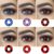 Wholesale Yearly Sharingan Animei Halloween Contact Eye Lenses Cosplay Contact Lenses Crazy lenses
