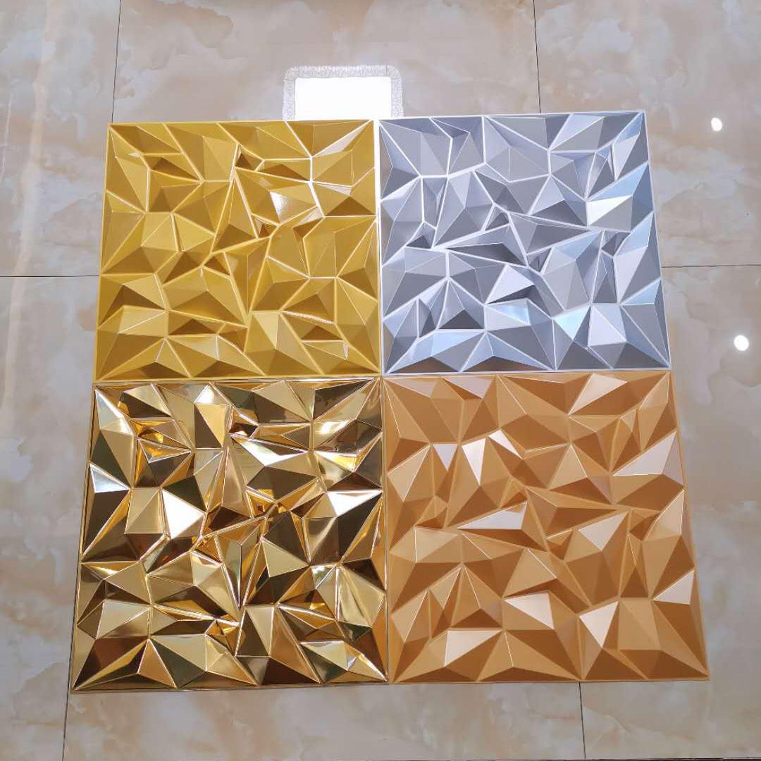 Водонепроницаемый Прочный домашний декоративный 3d интерьерная настенная панель для стен