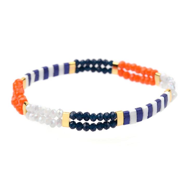 New fashion miyuki hand woven Japanese rice beads tila rice beads ladies bracelet