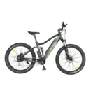 PETRIGO Retail Fat Tire Electric Mountain Bike Bicycle Full Suspension 36V/48v 250W/500w Brushless Motor Rear Driving 7 speed