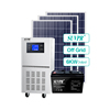 SUVPR 10 years warranty 6kw off grid solar energy system for home
