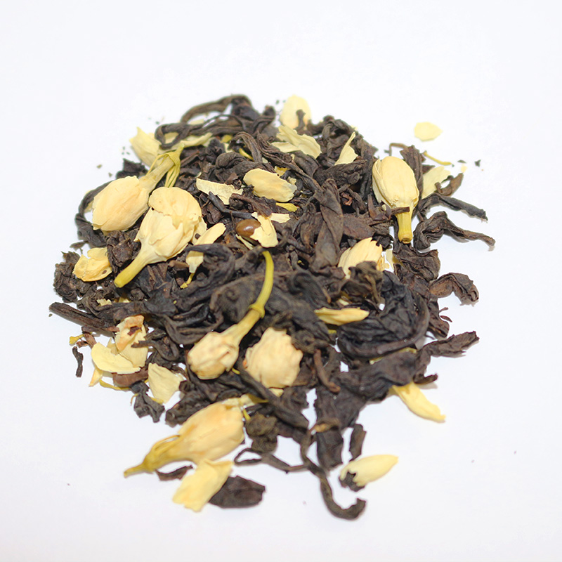 Changshengchuan Premium organic dried jasmine buds flowers tea blend tea chinese natural tea black - 4uTea | 4uTea.com