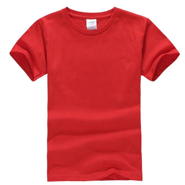 반소매 여름 코튼 화이트 캐주얼 수량 소년 아기 소녀 소년 티셔츠