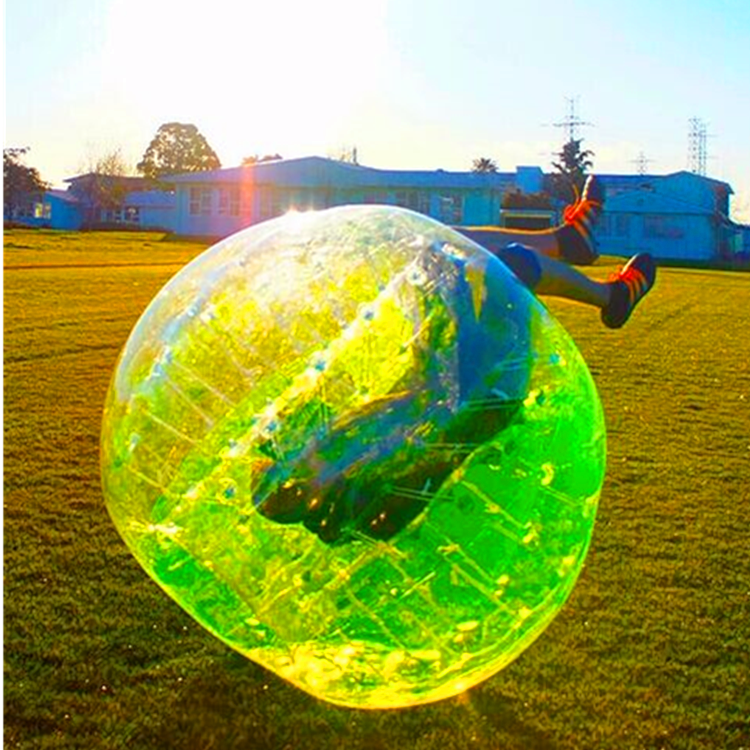 inflatable body zorbing bubble foot ball zorb  balls football for sales