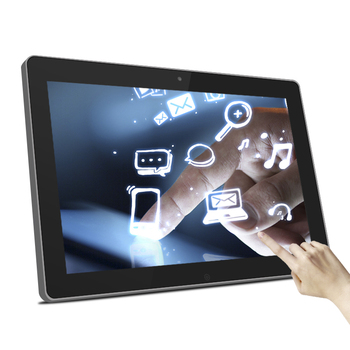 12 inch wall mount 2+8GB poe power android tablet with RJ45/Wifi
