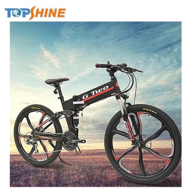 High Technology Folding Electric Bike with MP3 Bluetooth Player Remote Disable Motor