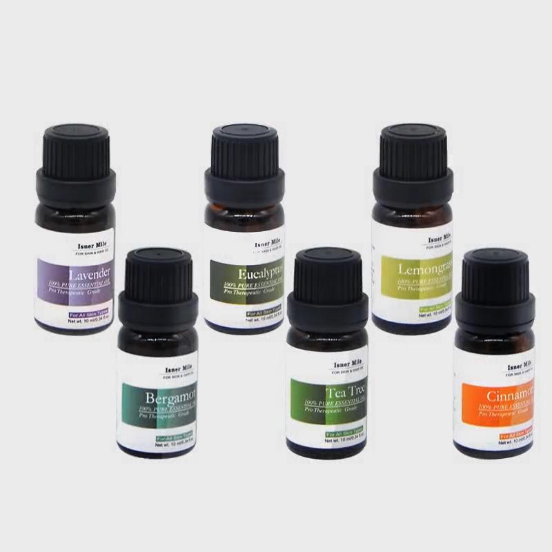 Isner Mile  OEM/ODM 100% Pure  Essential Oils Top 6 pcs of 10ml  Gift Set  in Stock