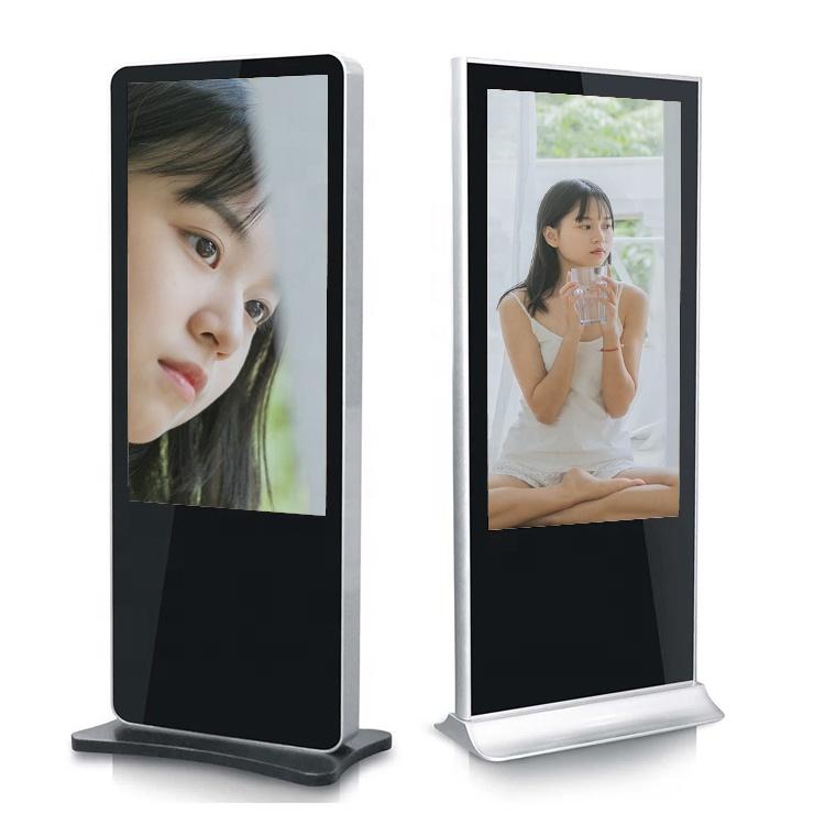 Смарт 49 дюймов с экраном для внутренней рекламы, портативное программное обеспечение totem, цифровой ЖК-дисплей