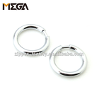Hardware accessories buckle leather handbag parts 32mm zinc alloy round o-ring handbag rings metal o rings