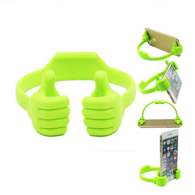 Universal Adjustable Plastic Thumbs Modeling Mobile phone Holder High Quality Fashion Personality Phone Stand Bracket Holder