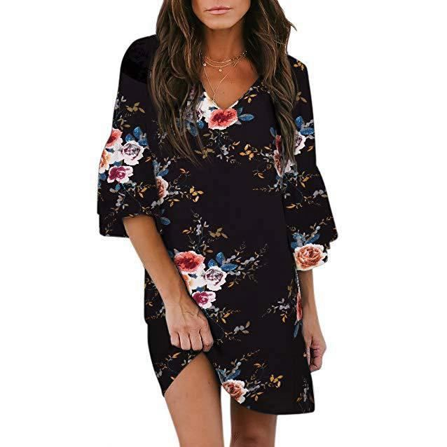 Fashion custom women dresses casual