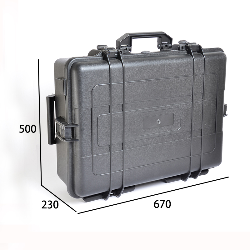 China Customized Trolley Flight Case Military Equipment Case With Two Wheels