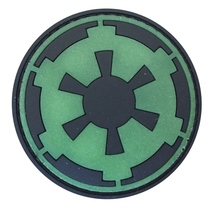 3D PVC Star-Wars Imperial Moral Tactique Patch En Caoutchouc