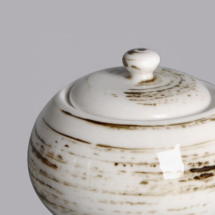 ceramics sugar pot