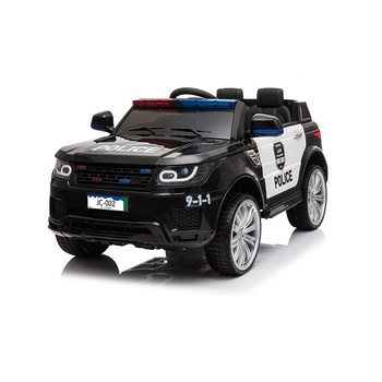 2019 New Police Ride On Car With Alarm Music and Light For Kids 12V
