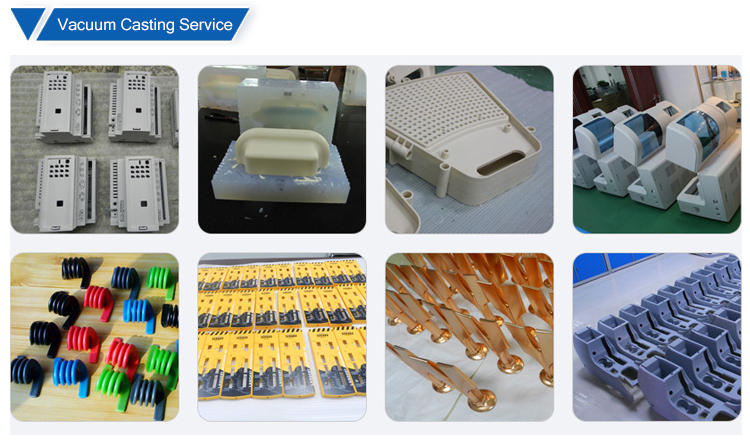 abs plastic vacuum casting forming parts silicone mold prototype