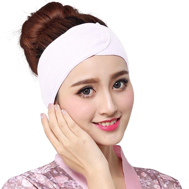 Yüksek kaliteli yeni varış renkli elastik Spa havlu kafa bandı