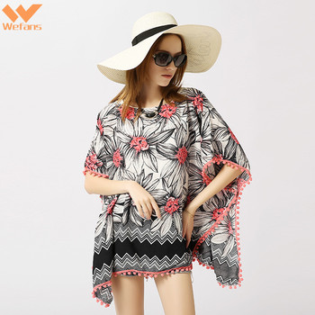 wefans 2019 Wholesale Fashion Women sexy tops and blouses Summer Custom design Tops bikinis Blouses