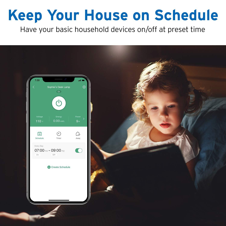 Akses Internet Nirkabel Power SMAR Plug Socket Alexa dan Google Kontrol Suara, Aplikasi Remote Control Timer