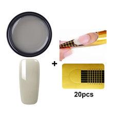 MAD DOLL гель для наращивания ногтей полупрозрачный клей для нейл-арта УФ строительный Гель-лак для ногтей(Китай)