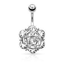 L. Mirror, 1 шт., кольца для пупка, 316, медицинская нержавеющая сталь, для женщин, девочек, пупок, кольца для живота, штанга, пирсинг, 10 мм, бар(Китай)