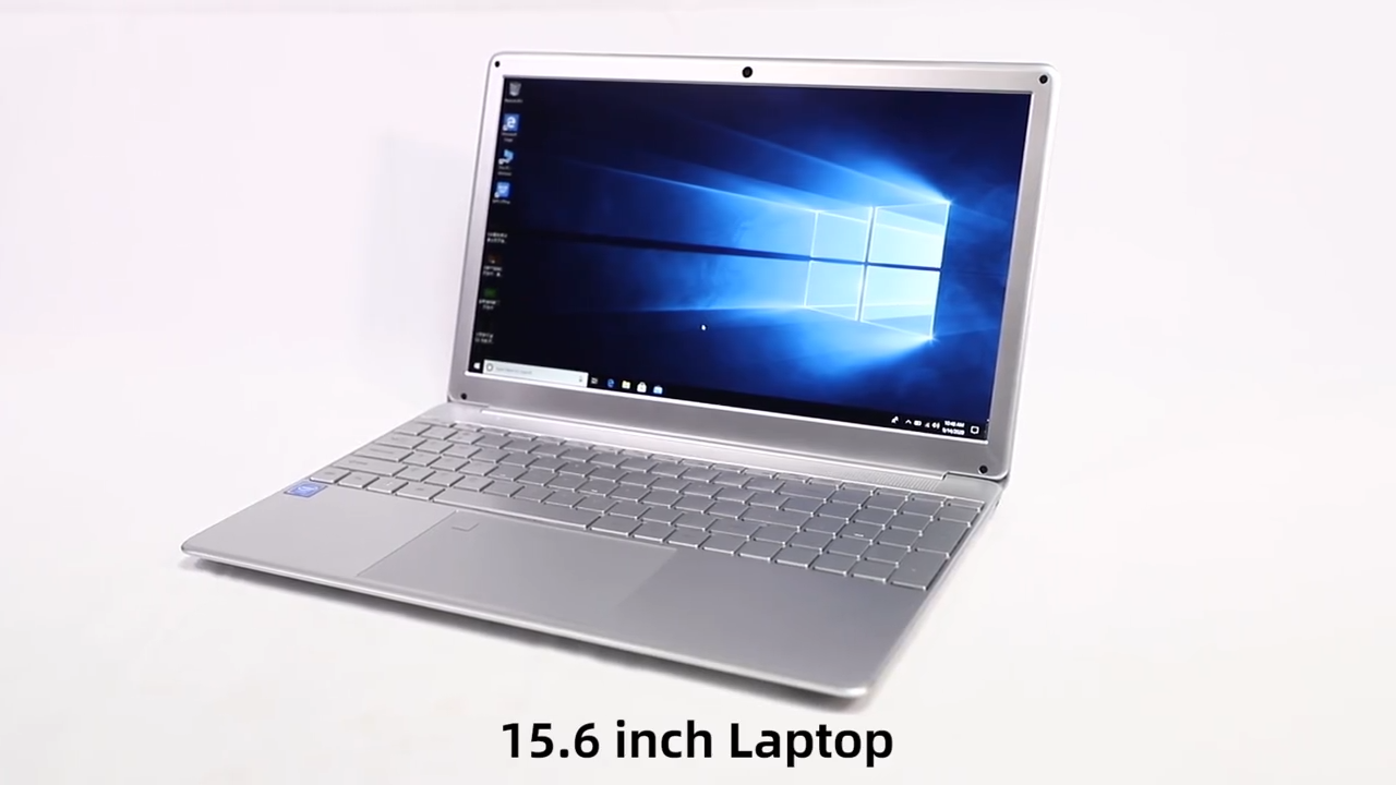 Laptop Komputer 15.6 Inci Windows 10, Notebook Inter I3 Quad Core 8GB + 512GB 1920*1080 FHD IPS