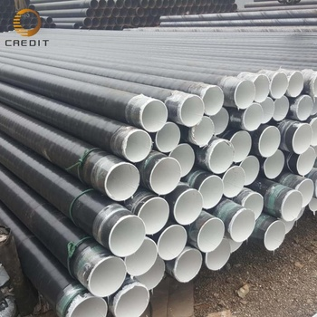 API Spec 5L Oilfield Pipeline PE Coated SSAW Spiral Welded Steel Pipe X42 X56 In Oil And Gas