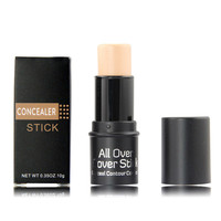 3 Colors Full Coverage Make Up Concealer Stick Private Label Freckle Acne Dark Cycles Contour Cream Concealer Pen