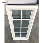 White 2020 Doorwin New Product White Oak Wood Frame Alu-clad Grille Design Casement Windows For Sale