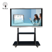 Multimedia 55 Interactive Touch Panel Smart Board For School