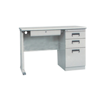 high Quality Modern White stainless steel Office Table Design