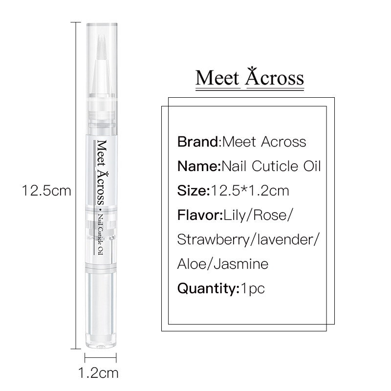 Custom Private Label with My Logo Nail Care Pen Packaging Nail Cuticle Oil