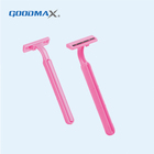 Personal Care Disposable Twin Stainless Steel Blade Shaving Razor