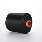 150d/48f HIM textured dope dyed black intermingled polyester filament yarn