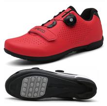 Мужская обувь для езды на велосипеде MTB, дышащая Спортивная обувь для гонок и езды на велосипеде, самозакрывающаяся, 2020(Китай)